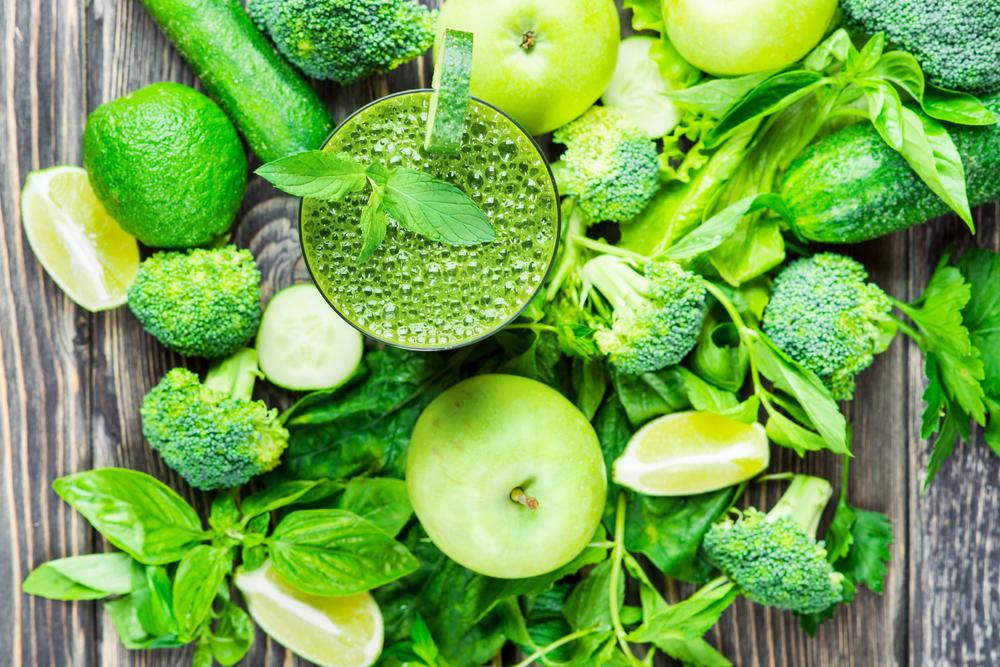 Start je detox met een groene smoothie